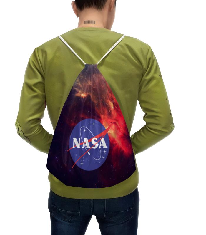 Рюкзак-мешок с полной запечаткой Printio Nasa | наса рюкзак с полной запечаткой printio рюкзак космос