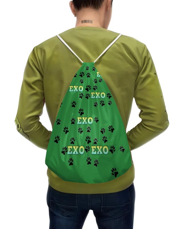 Фото - Printio Exo (следы) зеленый рюкзак с полной запечаткой printio зеленый чип