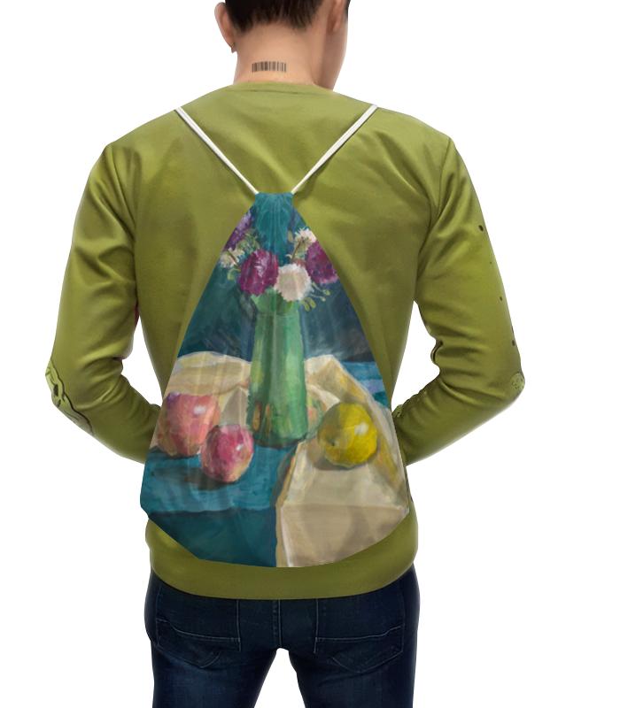 Рюкзак-мешок с полной запечаткой Printio Астры борцовка с полной запечаткой printio астры