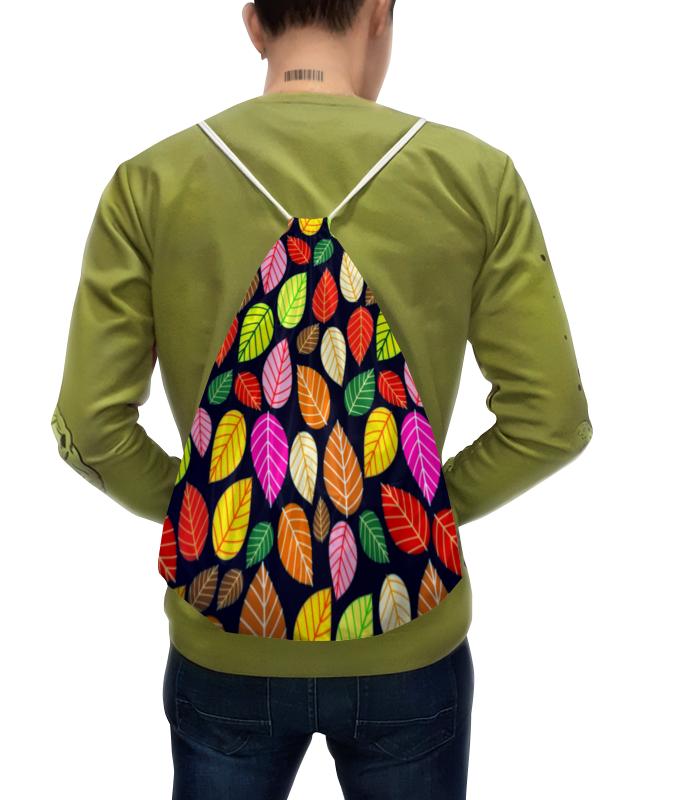 Рюкзак-мешок с полной запечаткой Printio Листва платье летнее printio листва