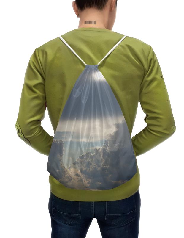 Рюкзак-мешок с полной запечаткой Printio Выше облаков! рюкзак с полной запечаткой printio подарок