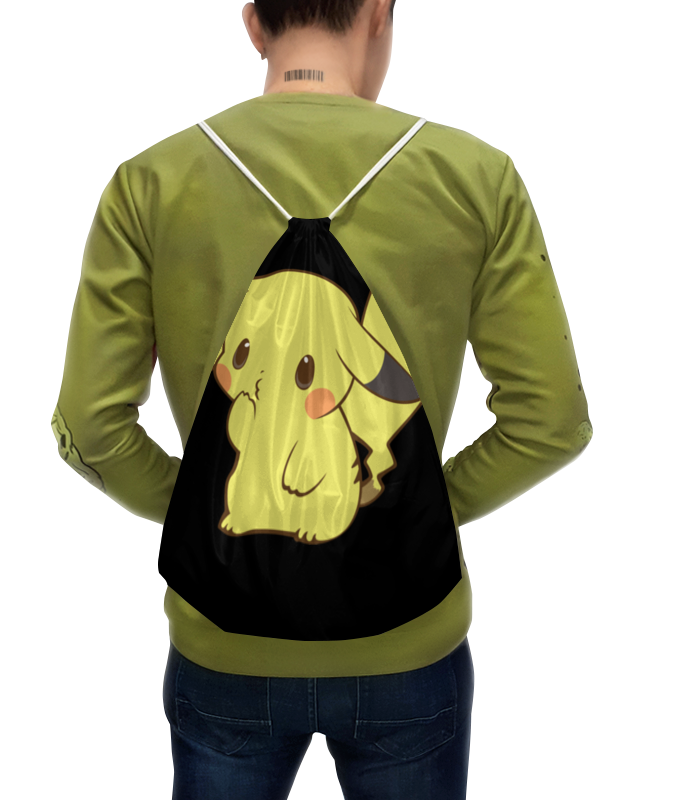 где купить Рюкзак с полной запечаткой Printio Pokemon pikachu / покемон пикачу по лучшей цене