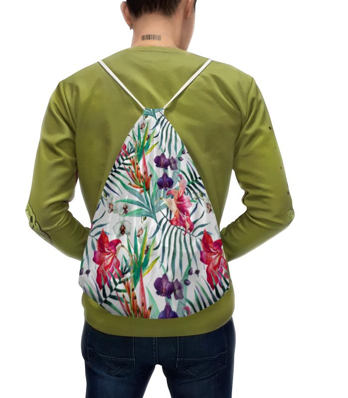 Рюкзак с полной запечаткой Printio Экзотические цветы рюкзак с полной запечаткой printio цветы тропиков