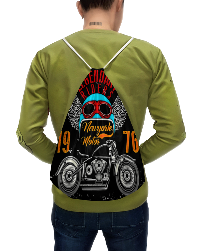 Рюкзак с полной запечаткой Printio Legendary riders толстовка с полной запечаткой printio legendary riders