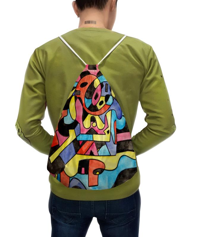 Рюкзак-мешок с полной запечаткой Printio Ttt`12ll леггинсы printio ttt 12ll