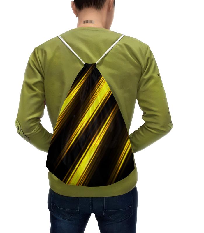 Рюкзак с полной запечаткой Printio Желтые полосы прорезыватели macik забавка ушки желтые с прорезывателем