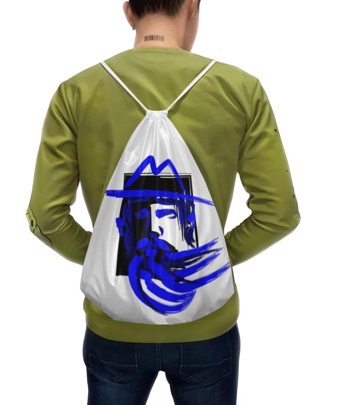 Рюкзак с полной запечаткой Printio Blue beard, синяя борода рюкзак с полной запечаткой printio синяя птица