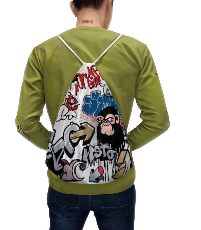 Фото - Рюкзак с полной запечаткой Printio Граффити рюкзак code code co073bwbyzk6