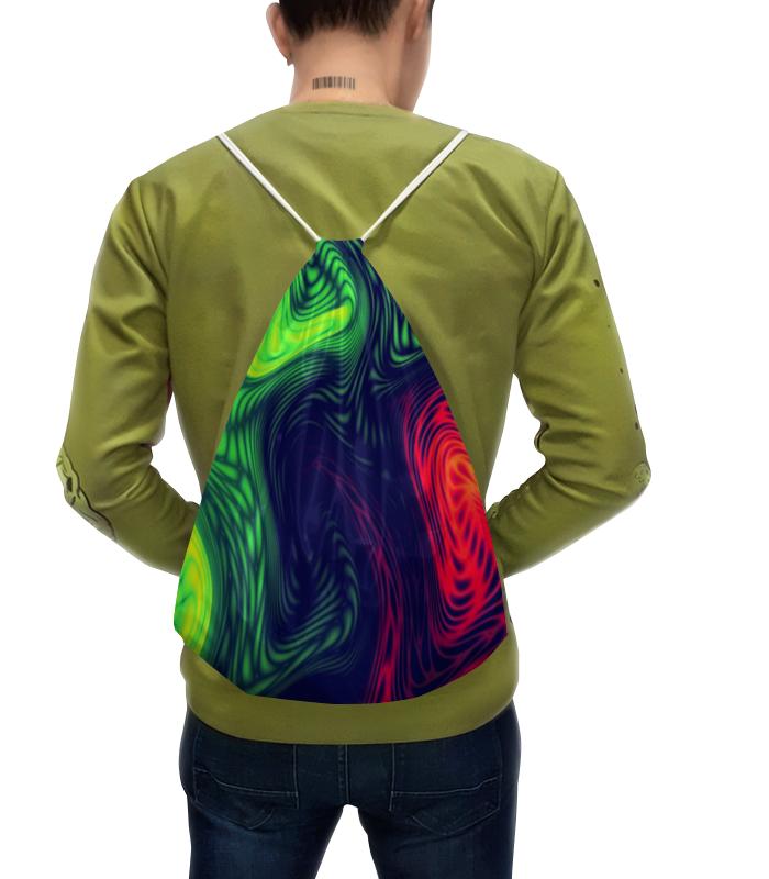 Рюкзак с полной запечаткой Printio Радужные краски цена