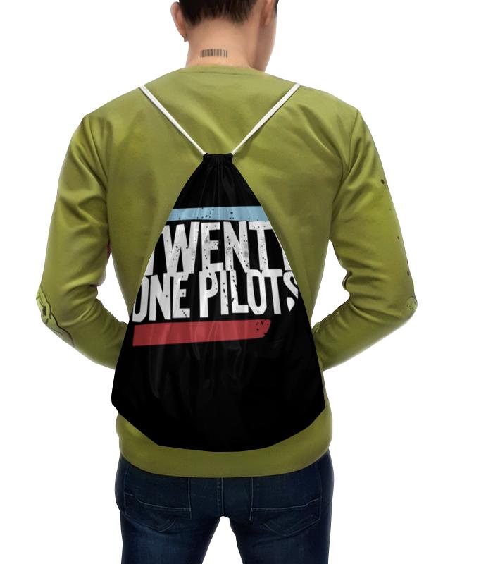 Рюкзак с полной запечаткой Printio Twenty one pilots тетрадь на скрепке printio тетрадь twenty one pilots