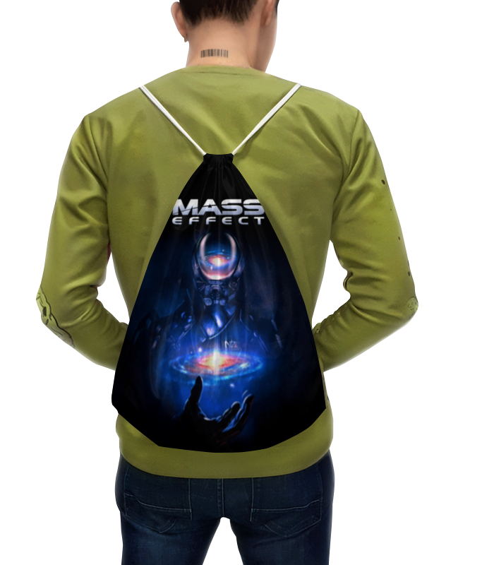 Рюкзак-мешок с полной запечаткой Printio Mass effect сумка printio mass effect n7