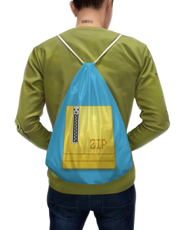 Рюкзак-мешок с полной запечаткой Printio Сжатая рюкзак мешок с полной запечаткой printio девушка