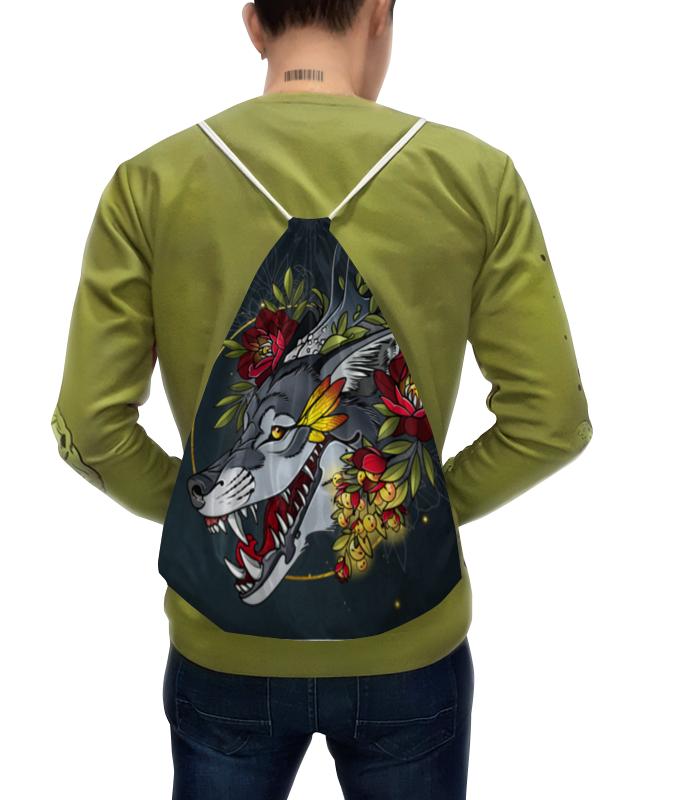 цены Printio Smiling wolf рюкзак
