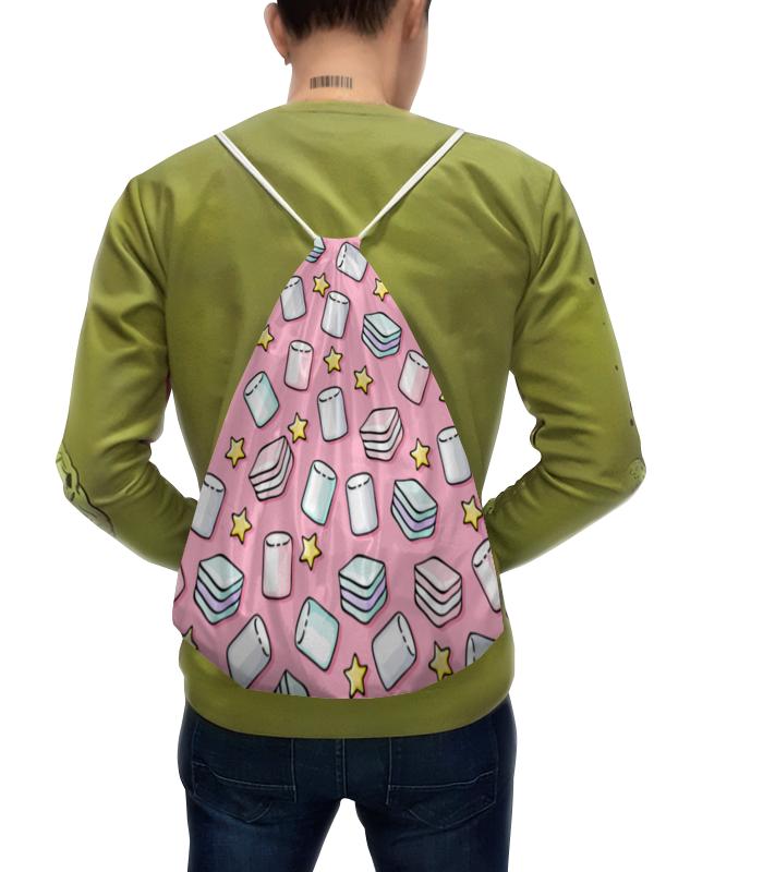 Рюкзак-мешок с полной запечаткой Printio Зефир рюкзак мешок с полной запечаткой printio подарок