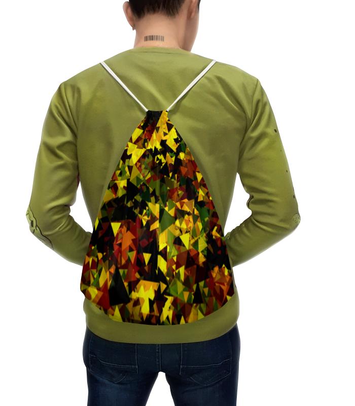 Фото - Рюкзак с полной запечаткой Printio Треугольники рюкзак code code co073bwbyzk6