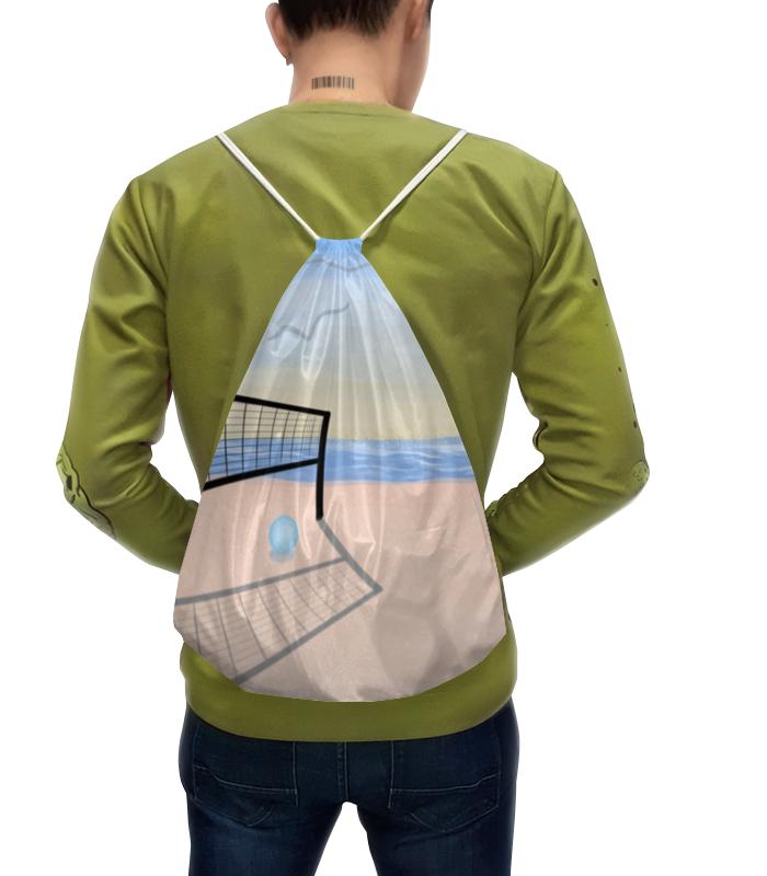 Рюкзак-мешок с полной запечаткой Printio Пляжная вечеринка