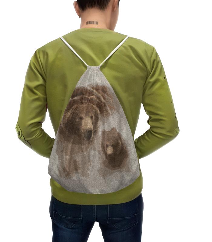 Рюкзак с полной запечаткой Printio Медведь с медвежонком disto d410 с поверкой