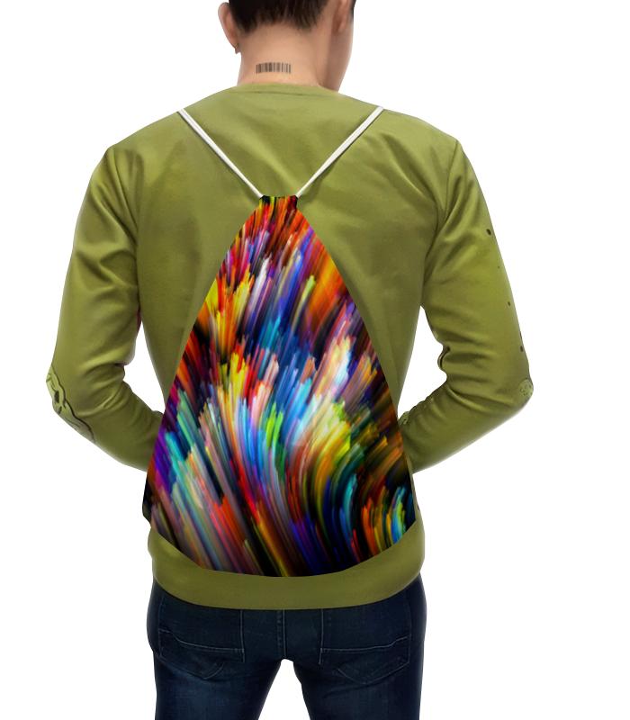 Рюкзак с полной запечаткой Printio Всплеск красок футболка с полной запечаткой для девочек printio всплеск красок