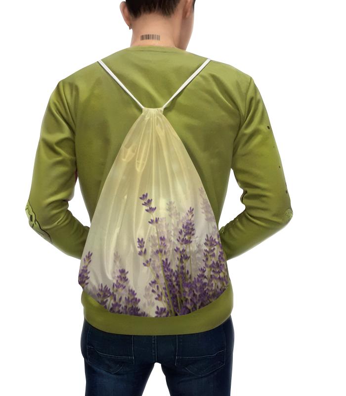 Рюкзак-мешок с полной запечаткой Printio Летный вечер в поле