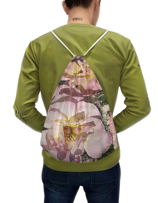 Printio Нежный цветник. рюкзак с полной запечаткой printio нежный букет