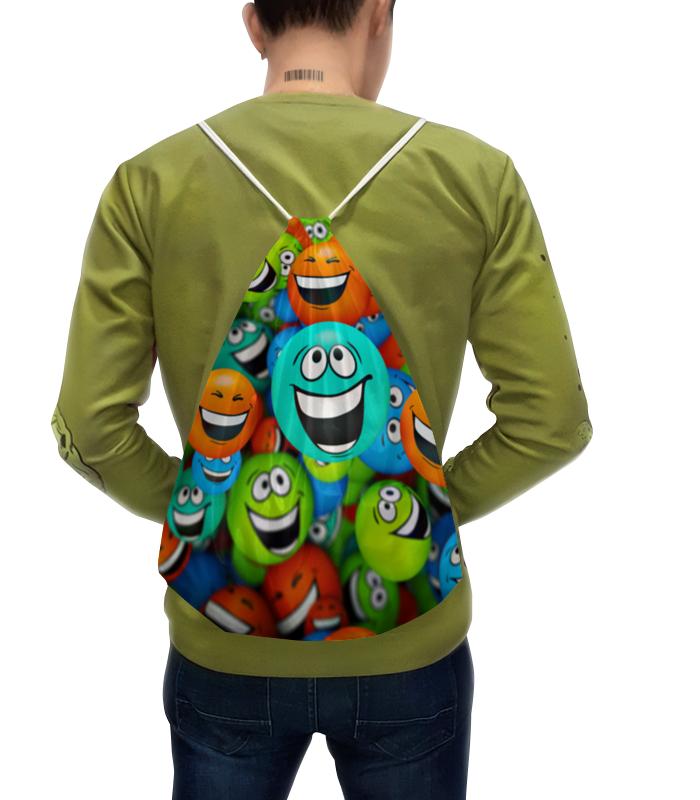 Фото - Рюкзак-мешок с полной запечаткой Printio Смайлики футболка с полной запечаткой женская printio смайлики