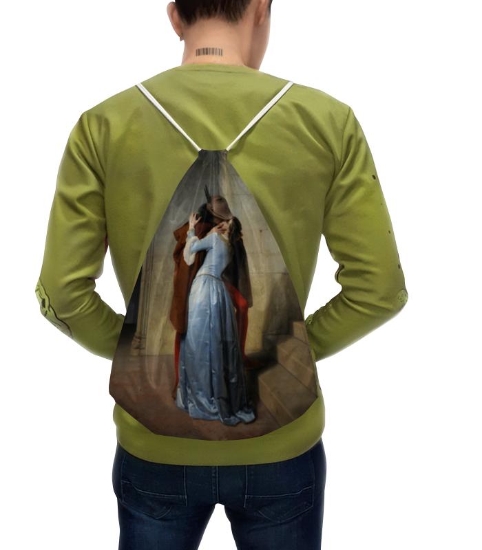 Рюкзак с полной запечаткой Printio Поцелуй (франческо айец) тетрадь на скрепке printio поцелуй франческо айец