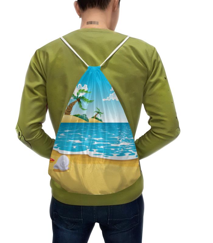 Рюкзак с полной запечаткой Printio Летний отдых футболка с полной запечаткой для мальчиков printio летний отдых