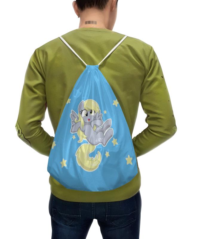 Рюкзак с полной запечаткой Printio My little pony (derpy) рюкзак школьный my little pony 40х29х16 см