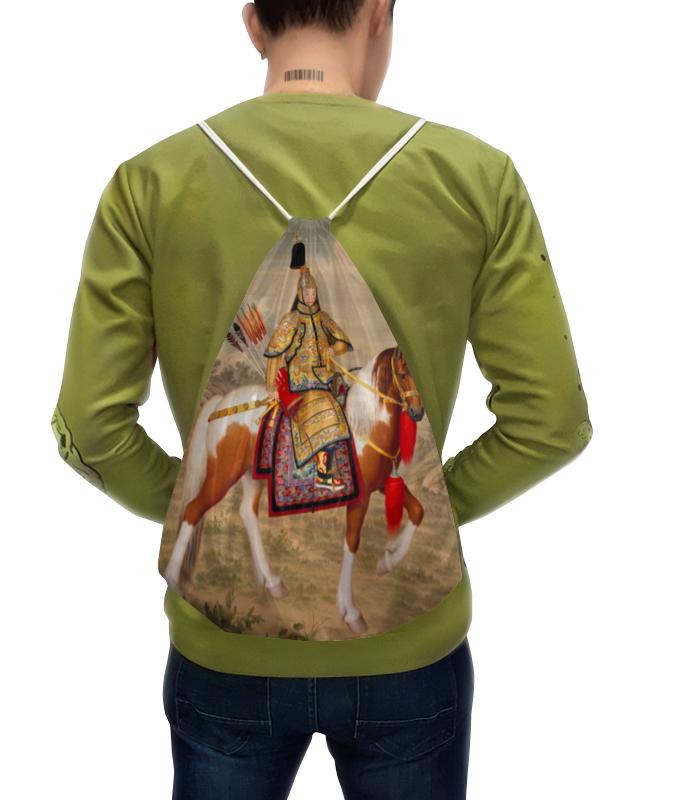 Рюкзак-мешок с полной запечаткой Printio Цяньлун (джузеппе кастильоне)