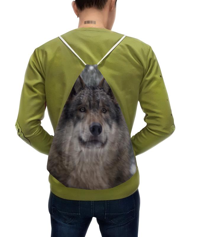Рюкзак с полной запечаткой Printio Волк в лесу колычев в голодный волк или герои городского дна