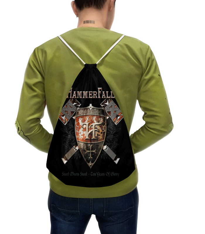 Рюкзак-мешок с полной запечаткой Printio Hammerfall edwin ремень