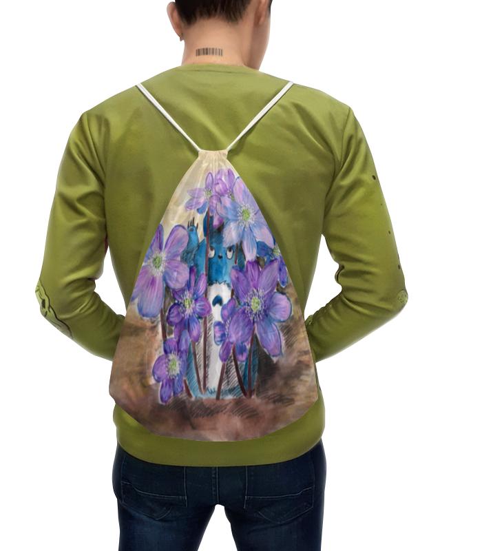 Рюкзак с полной запечаткой Printio Первые цветы рюкзак с полной запечаткой printio рюкзак луговые цветы