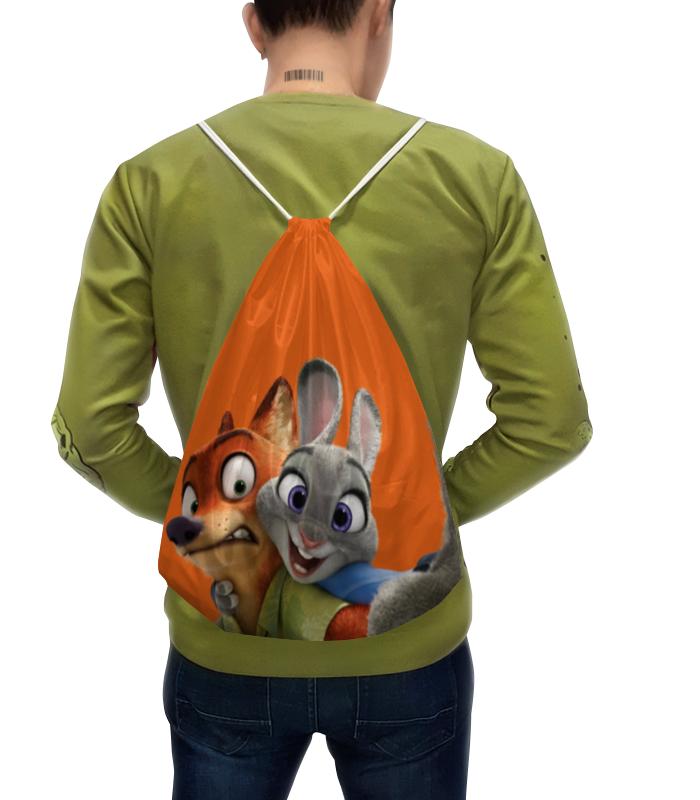 Рюкзак с полной запечаткой Printio Зверополис tomy фигурка ник уайлд 25 см зверополис