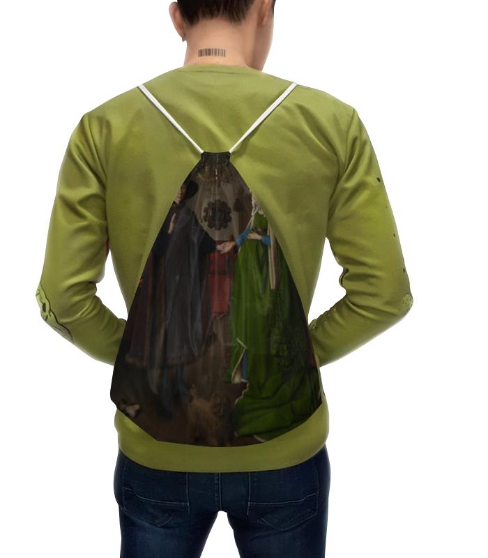 Рюкзак с полной запечаткой Printio Портрет четы арнольфини (ян ван эйк)