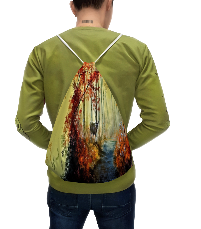 Рюкзак с полной запечаткой Printio Осенняя роща