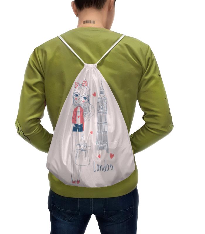 Рюкзак-мешок с полной запечаткой Printio Лондон рюкзак мешок с полной запечаткой printio искорка девочки эквестрии