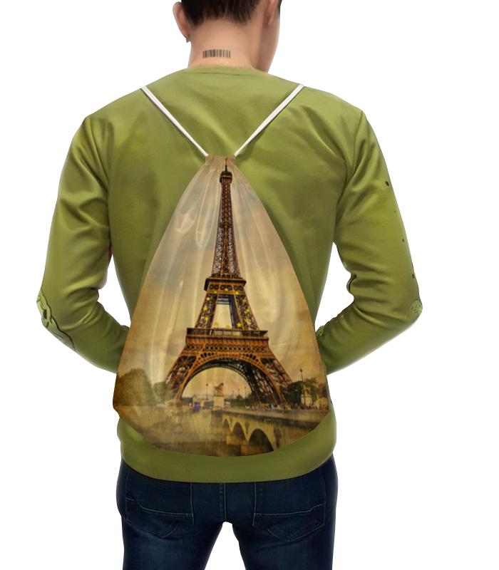 Рюкзак с полной запечаткой Printio Эйфелева башня тетрадь на скрепке printio эйфелева башня