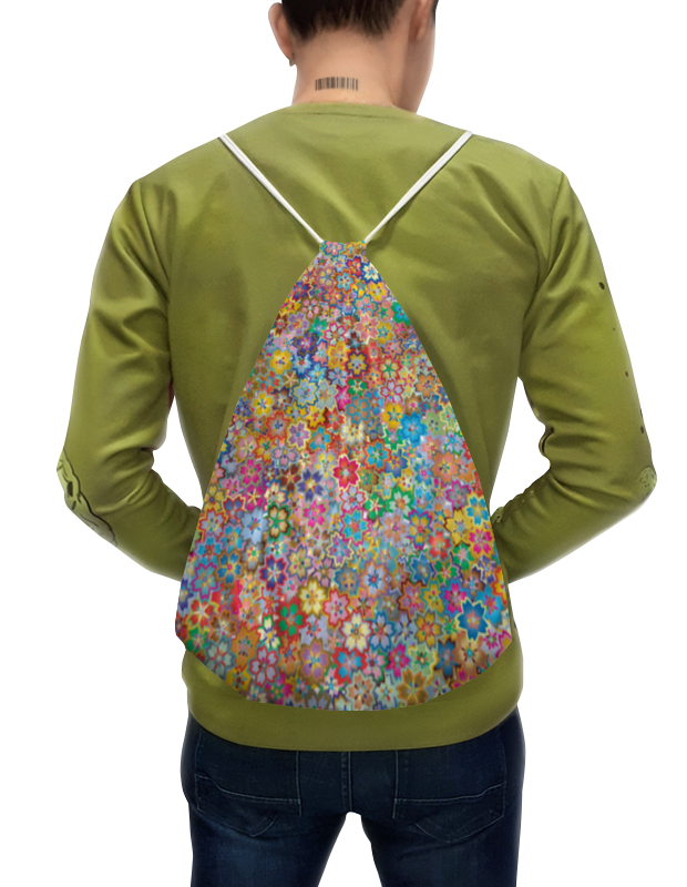 Printio Цветочный букет. рюкзак с полной запечаткой printio нежный букет