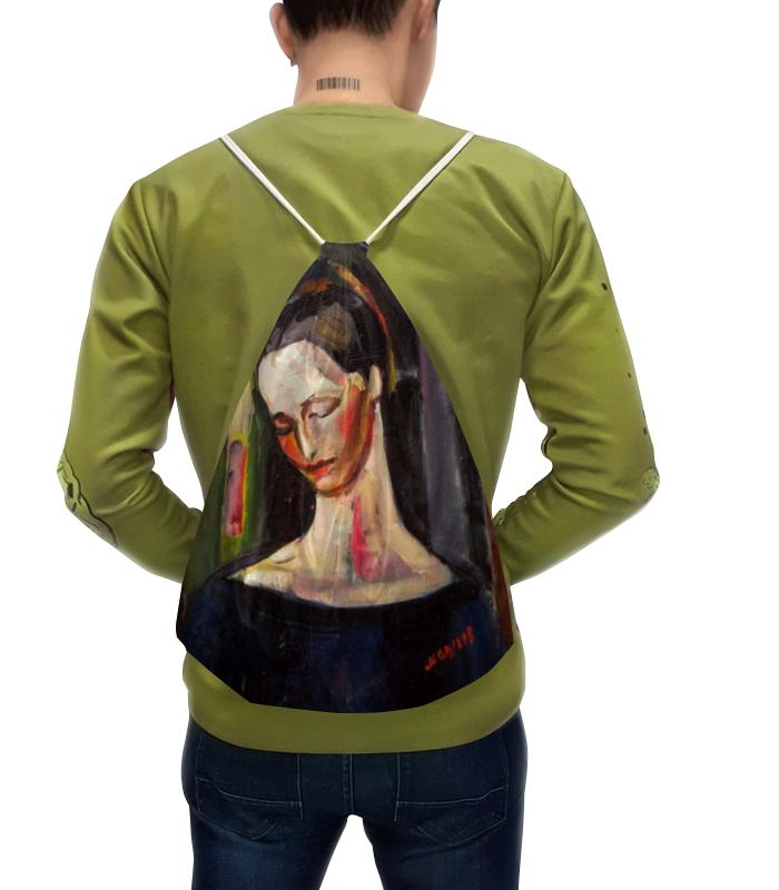 Рюкзак-мешок с полной запечаткой Printio Женский портрет (илья машков) илья бушмин один из нас