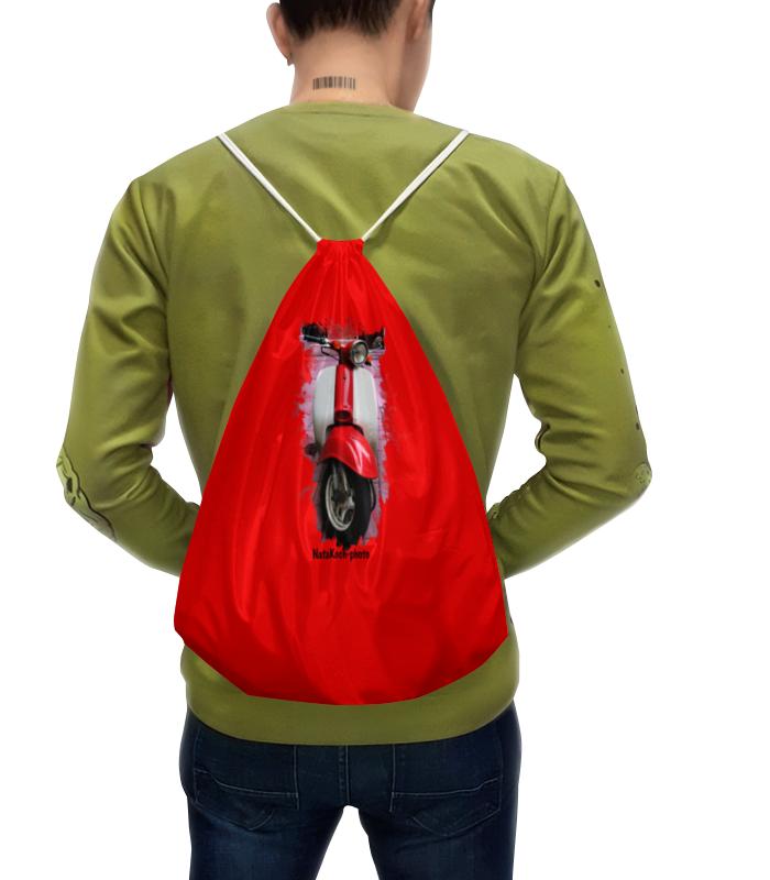 Рюкзак с полной запечаткой Printio Скутер акустика на скутер по почте наложенным платежом