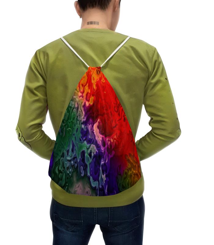 Рюкзак с полной запечаткой Printio Цветные краски цена