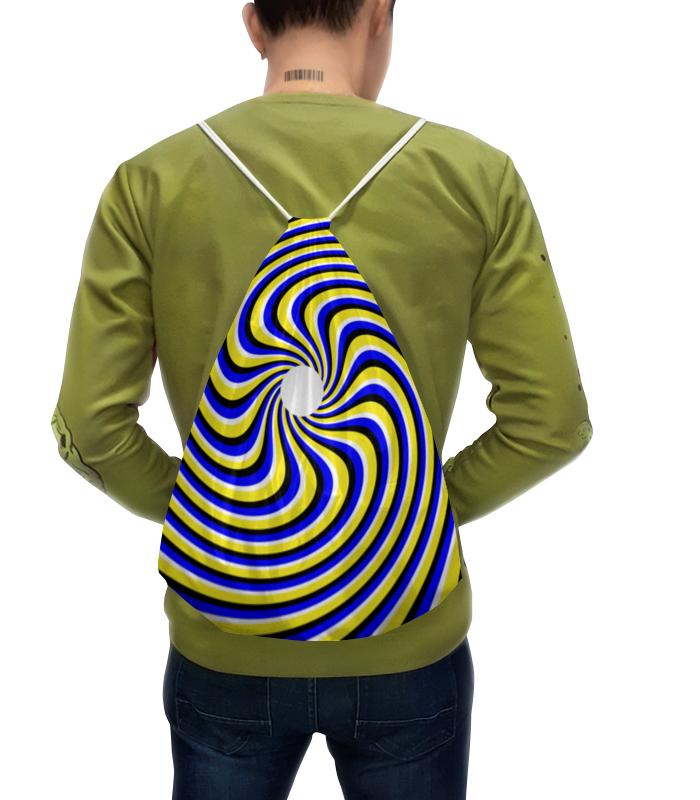 Рюкзак-мешок с полной запечаткой Printio Иллюзия опасная иллюзия