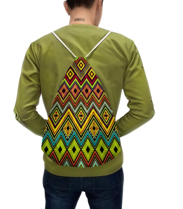 Рюкзак с полной запечаткой Printio Узор многоцветный luomu многоцветный 20m 200leds eu plug