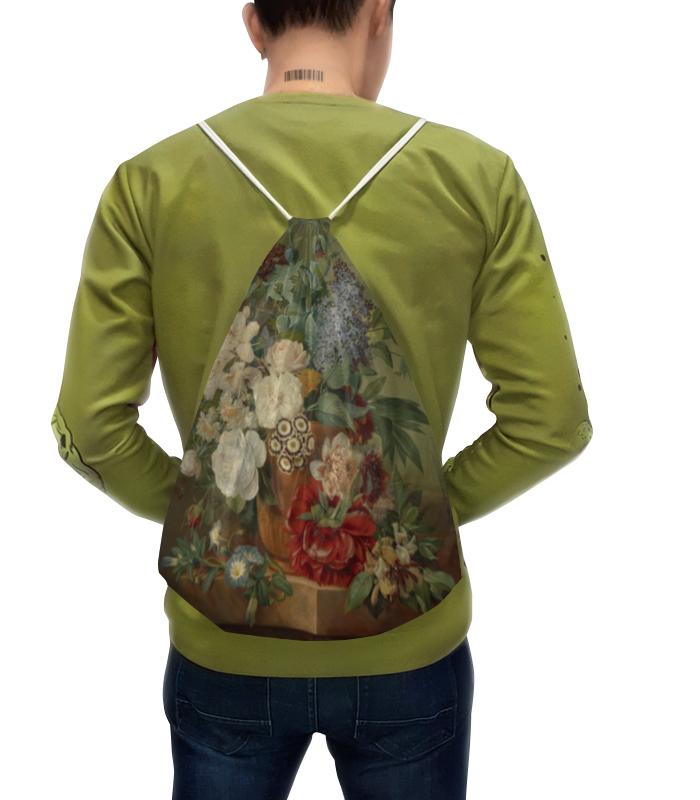 Рюкзак с полной запечаткой Printio Цветы в терракотовой вазе картина цветы в коричневой вазе холст масло 75х75 см