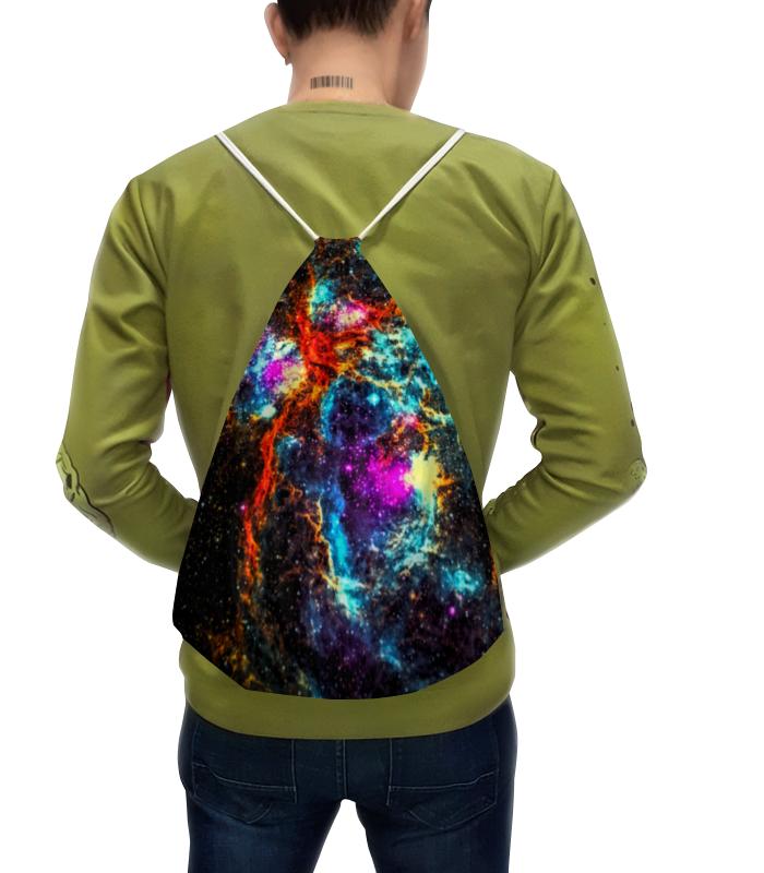 Рюкзак с полной запечаткой Printio Краски космоса борцовка с полной запечаткой printio краски космоса