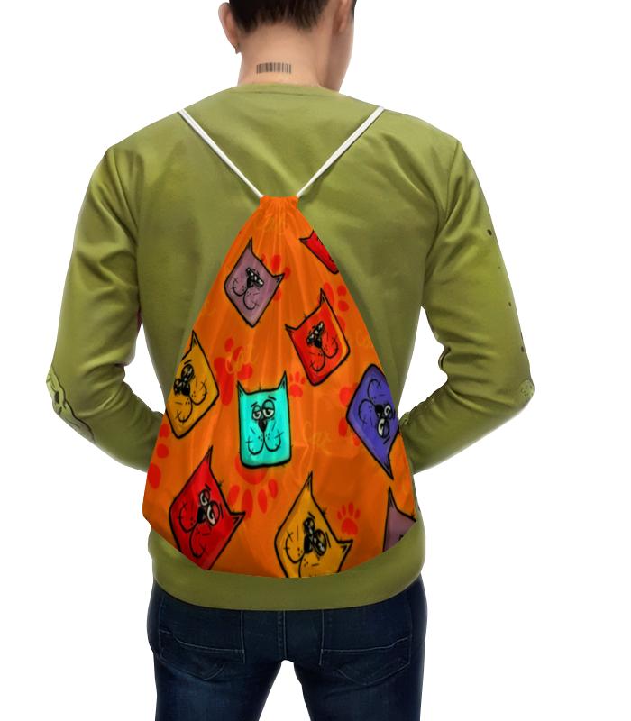 Рюкзак с полной запечаткой Printio Кошки рюкзак с полной запечаткой printio кошки