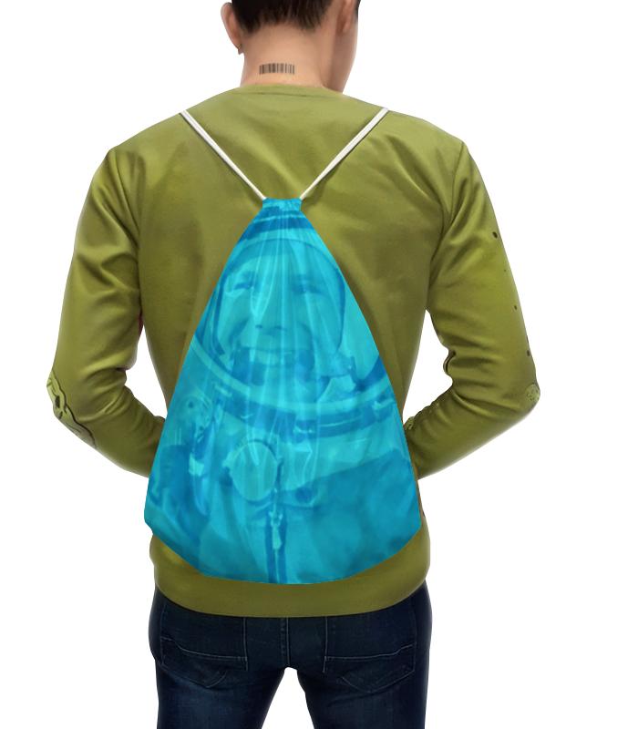 Рюкзак с полной запечаткой Printio Юрий гагарин юрий солоневич квантованный человек между временем ипространством