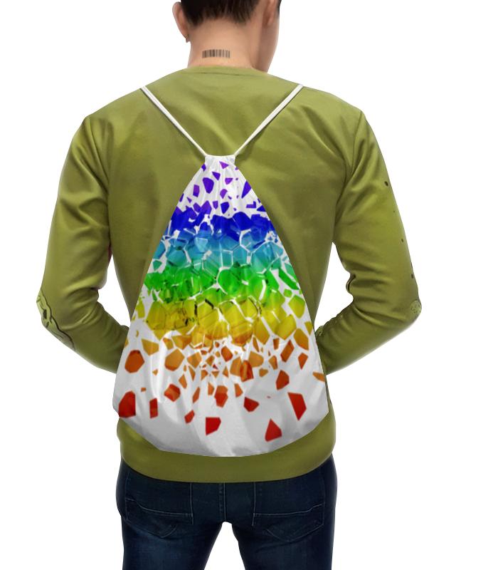 Рюкзак с полной запечаткой Printio Broken rainbow футболка с полной запечаткой женская printio broken rainbow