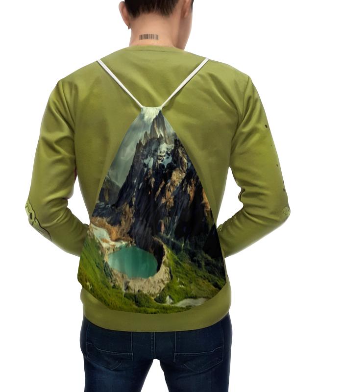 Рюкзак с полной запечаткой Printio Горный пейзаж рюкзак с полной запечаткой printio искушение христа василий суриков