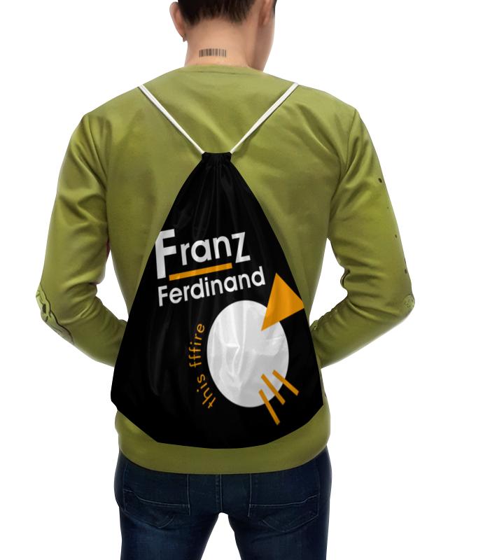 Рюкзак с полной запечаткой Printio Franz ferdinand плакат a3 29 7x42 printio franz ferdinand